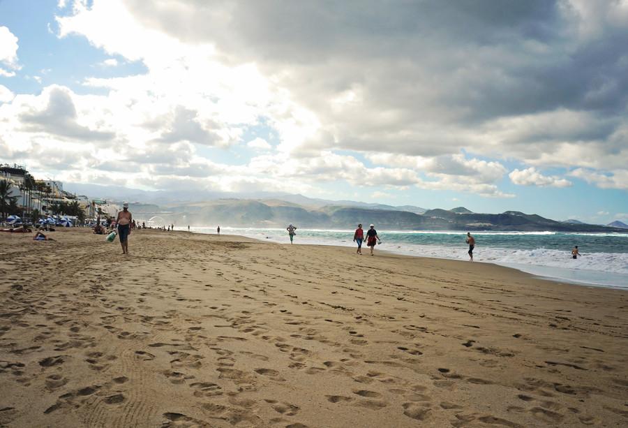 Playa Canteras, Las Palmas Gran Canaria
