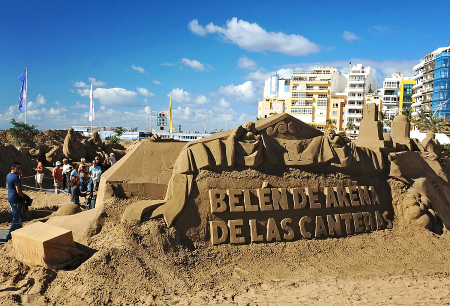 Sand Sculptures, Playa Canteras