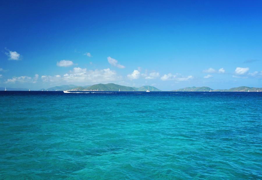 View of Tortola from Virgin Gorda
