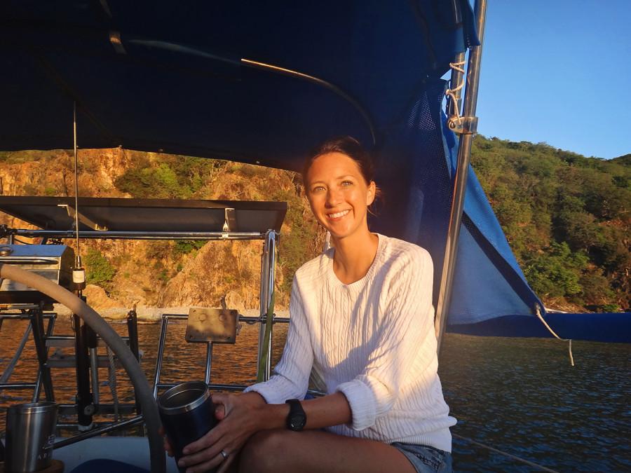Jessica at Norman Island