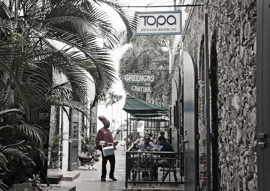 Greengos Restaurant, Charlotte Amalie