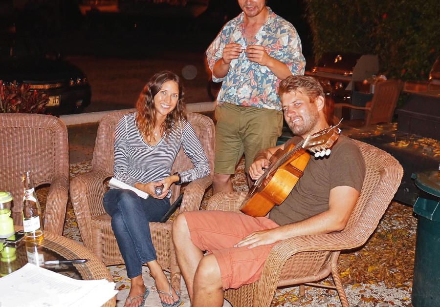 Jessica, Hannes & Ben