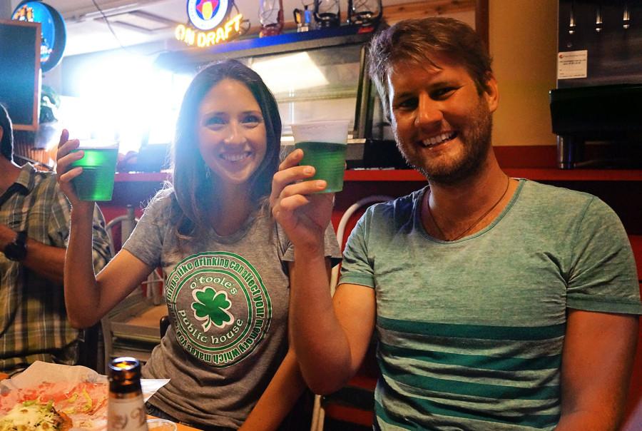 Jessica & Ben, St. Patrick's Day