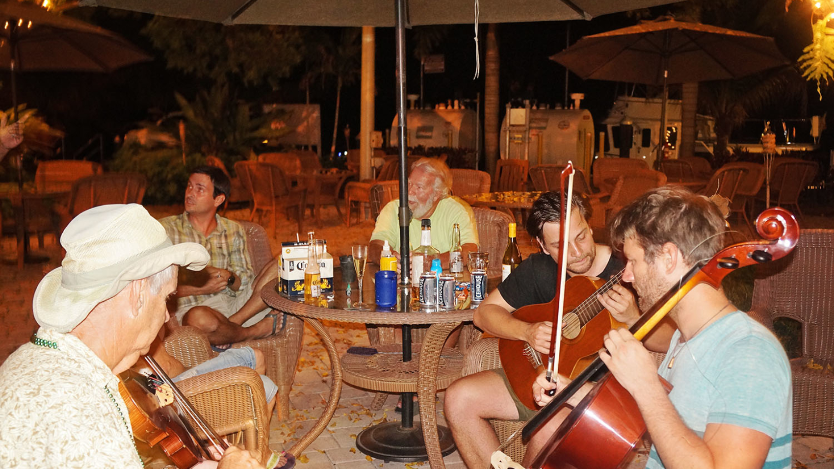 jam session at Indiantown Marina