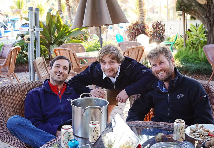 Matt, Hannes, & Ben