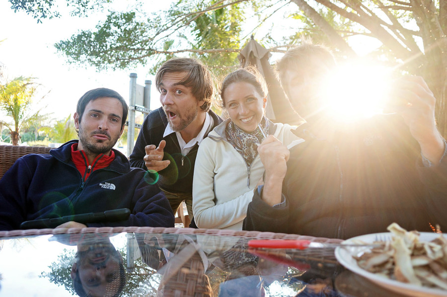 Matt, Hannes, Jessica & Ben