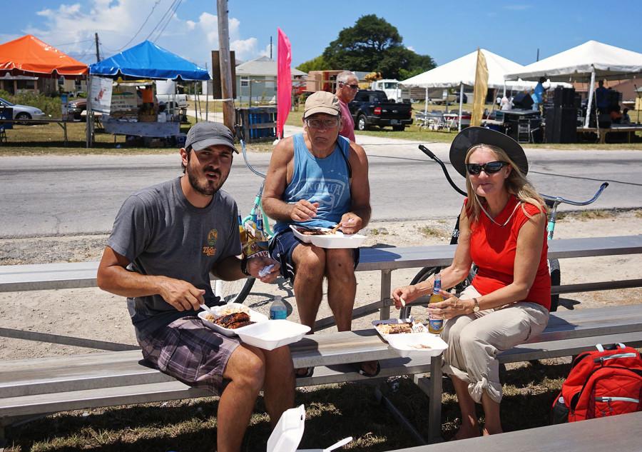 lunch at the regatta