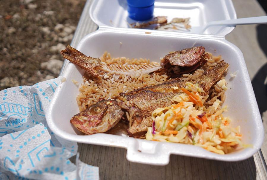 Bahamian fried fish