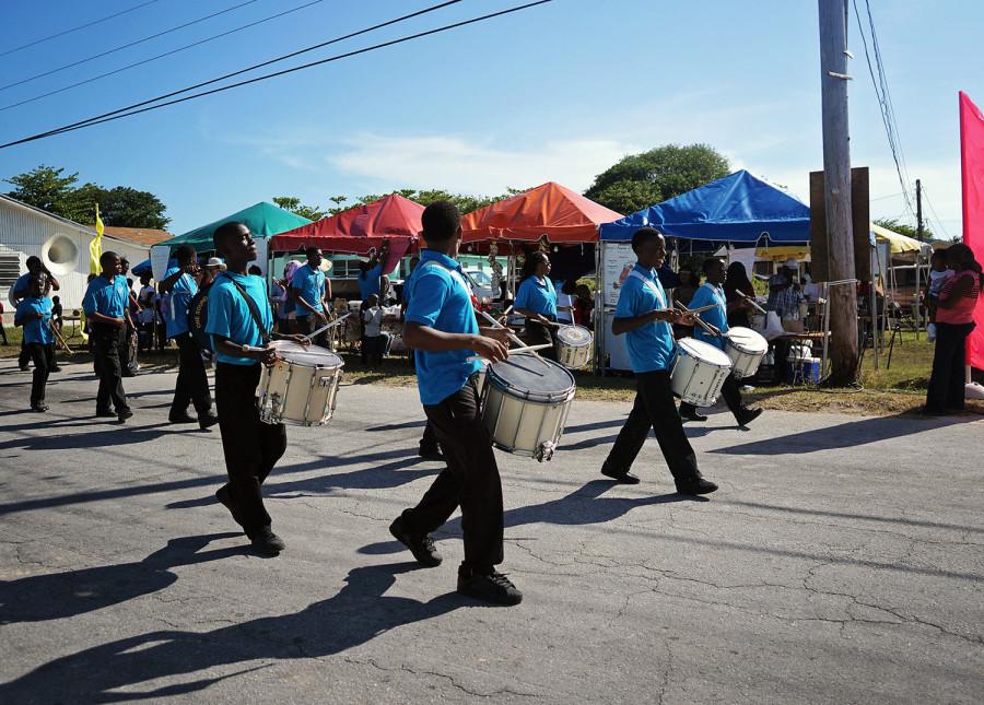 West End Bahamas marching band