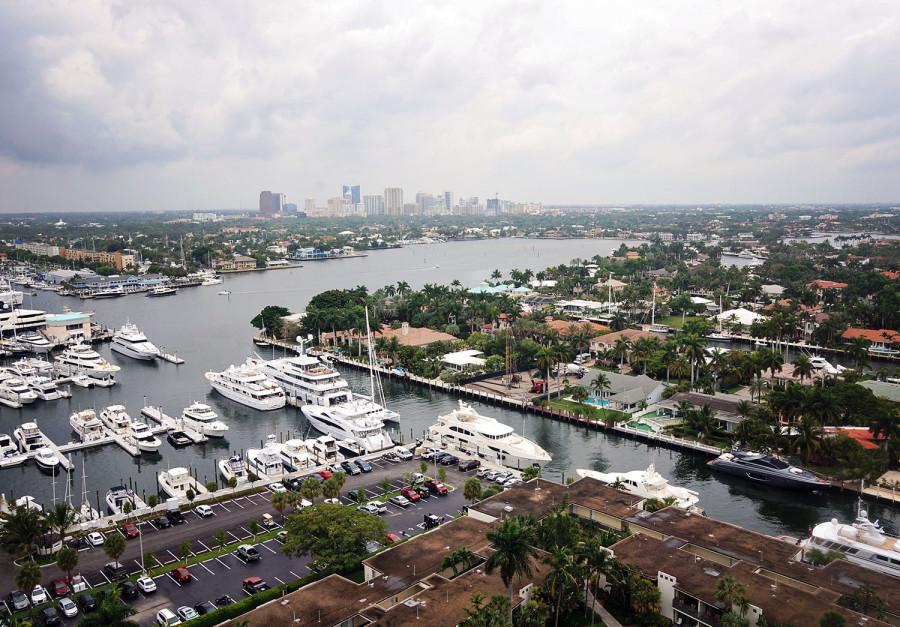 overlooking Ft. Lauderdale