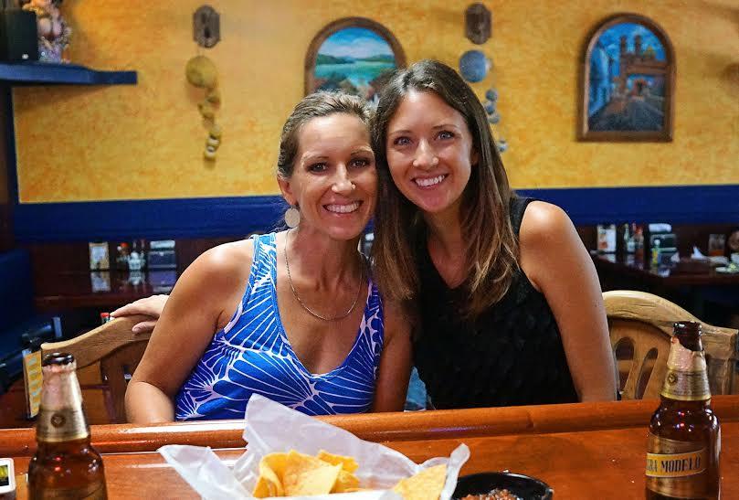 Melody & Jessica at El Paso
