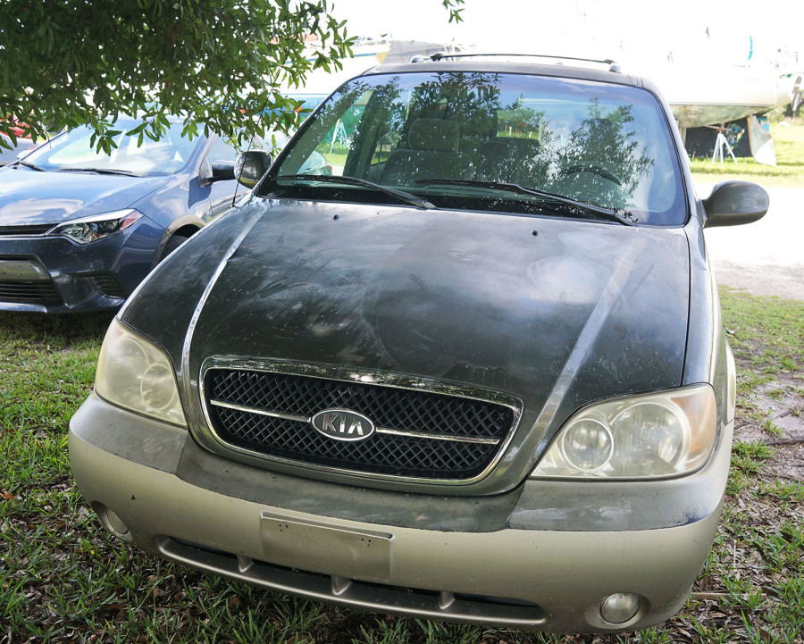 our beat up Kia