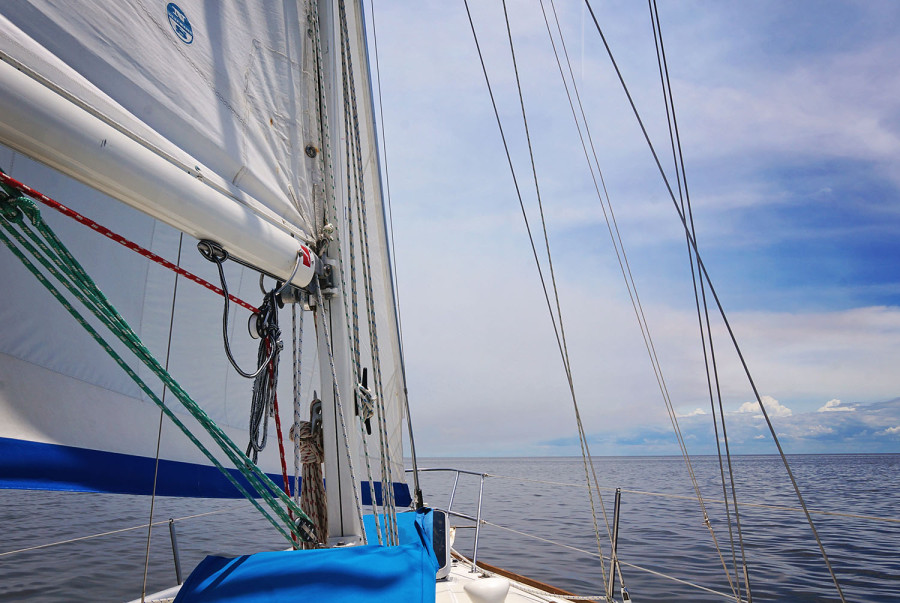 last sail on Serendipity