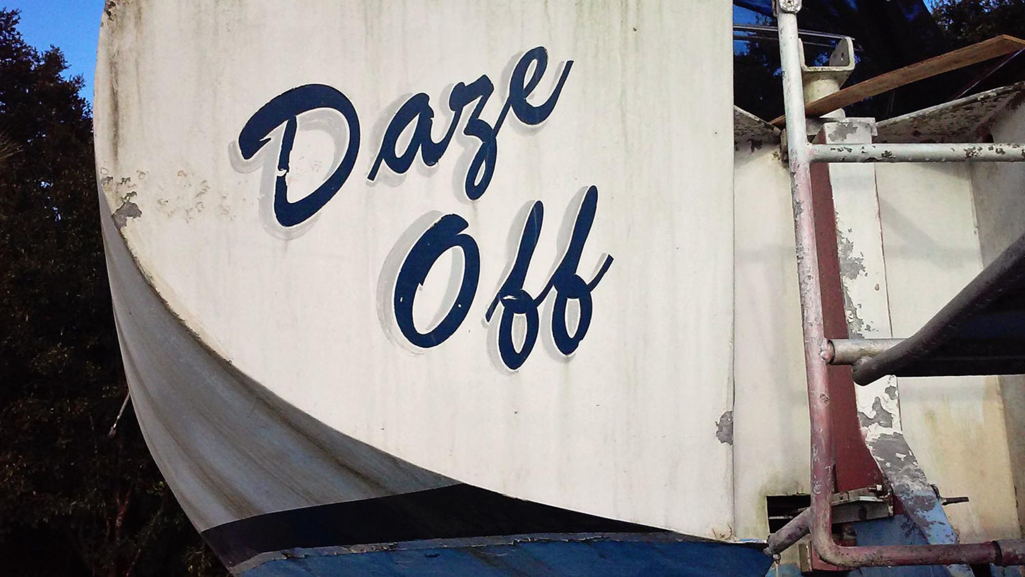 Daze Off name on stern