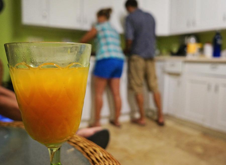 Mango/Monster drink