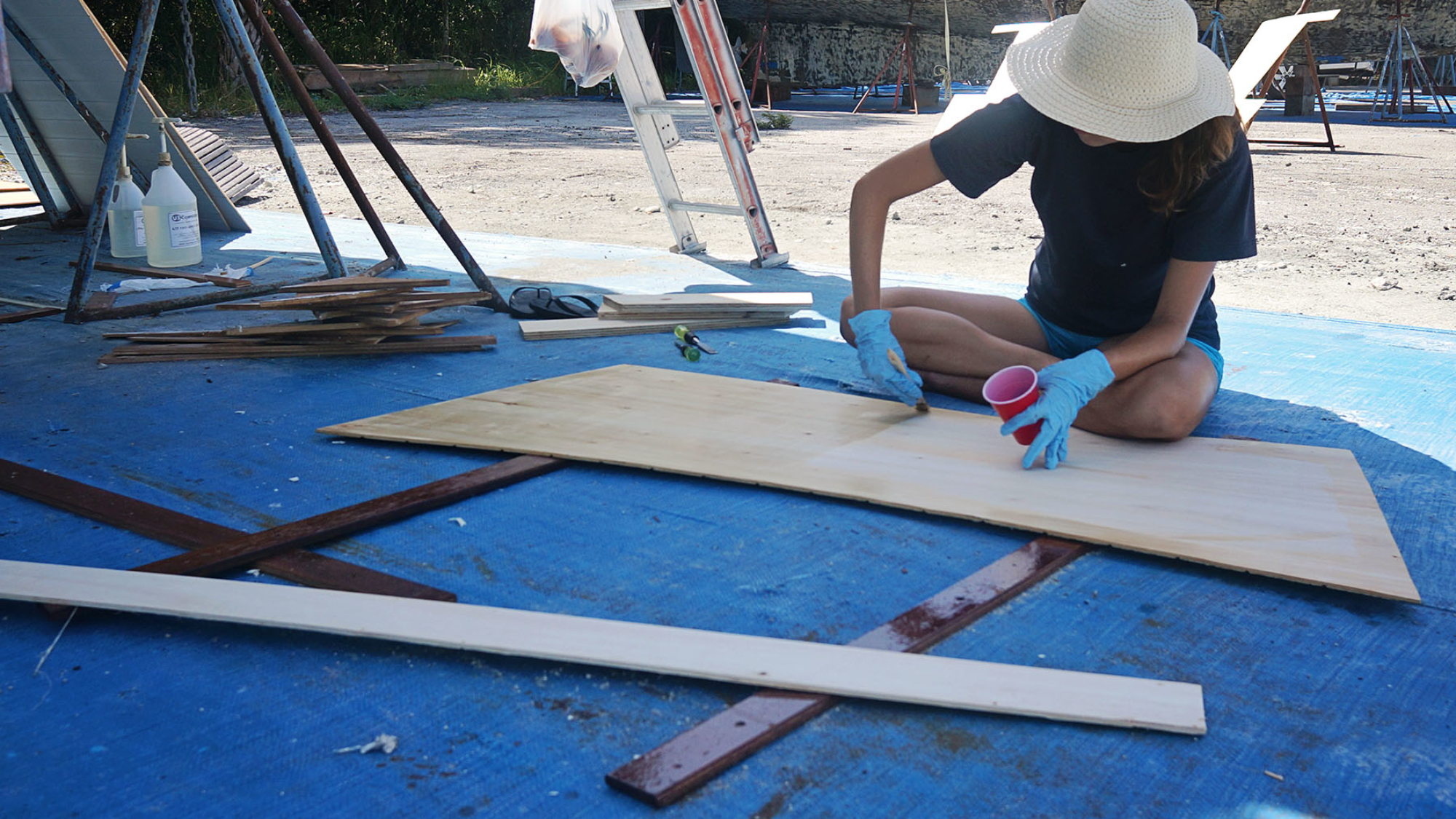 epoxy coating boards