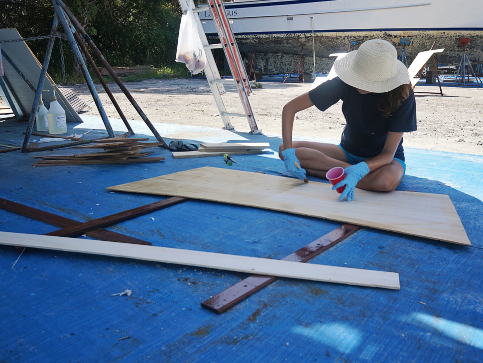 epoxy coating boards