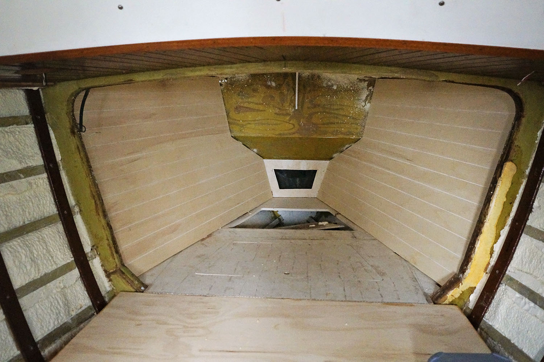 v berth matt jessica s sailing page