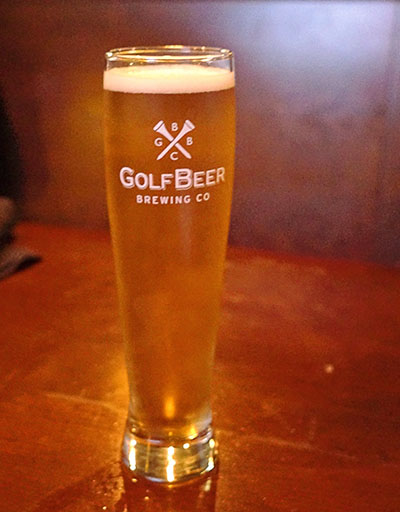 Golf Beer Brewing