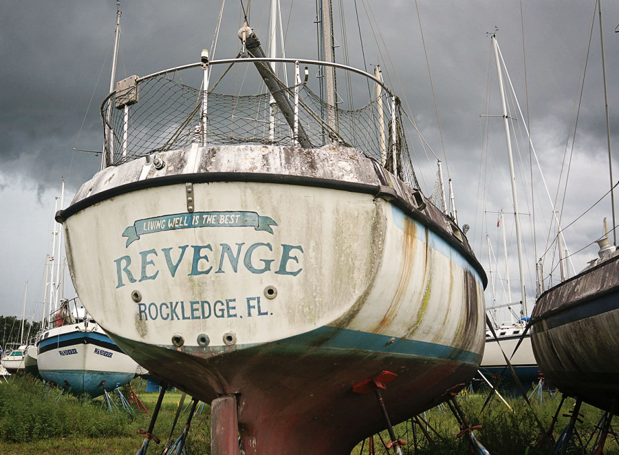 boat graveyard of Indiantown
