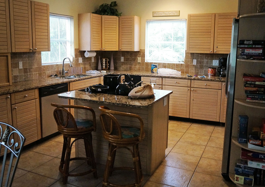 kitchen in villa, Siesta Key