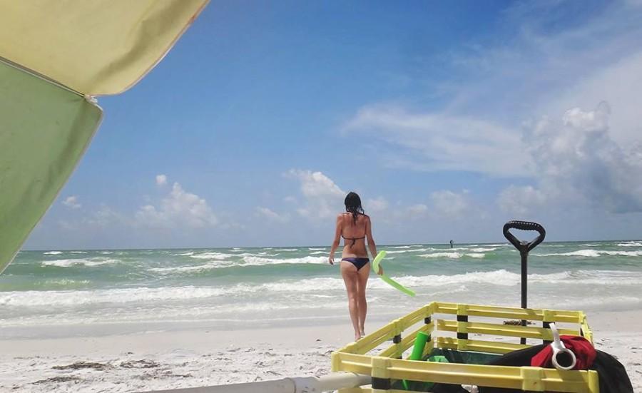 Jessica at Siesta Beach