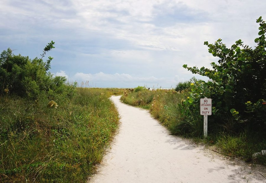 Trail to Siesta Beach