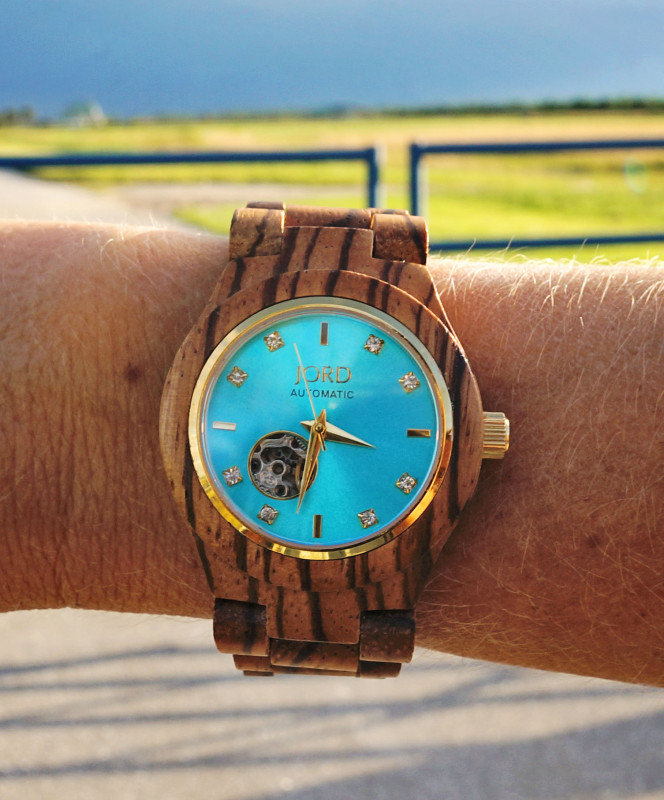 Jord turquoise and zebrawood