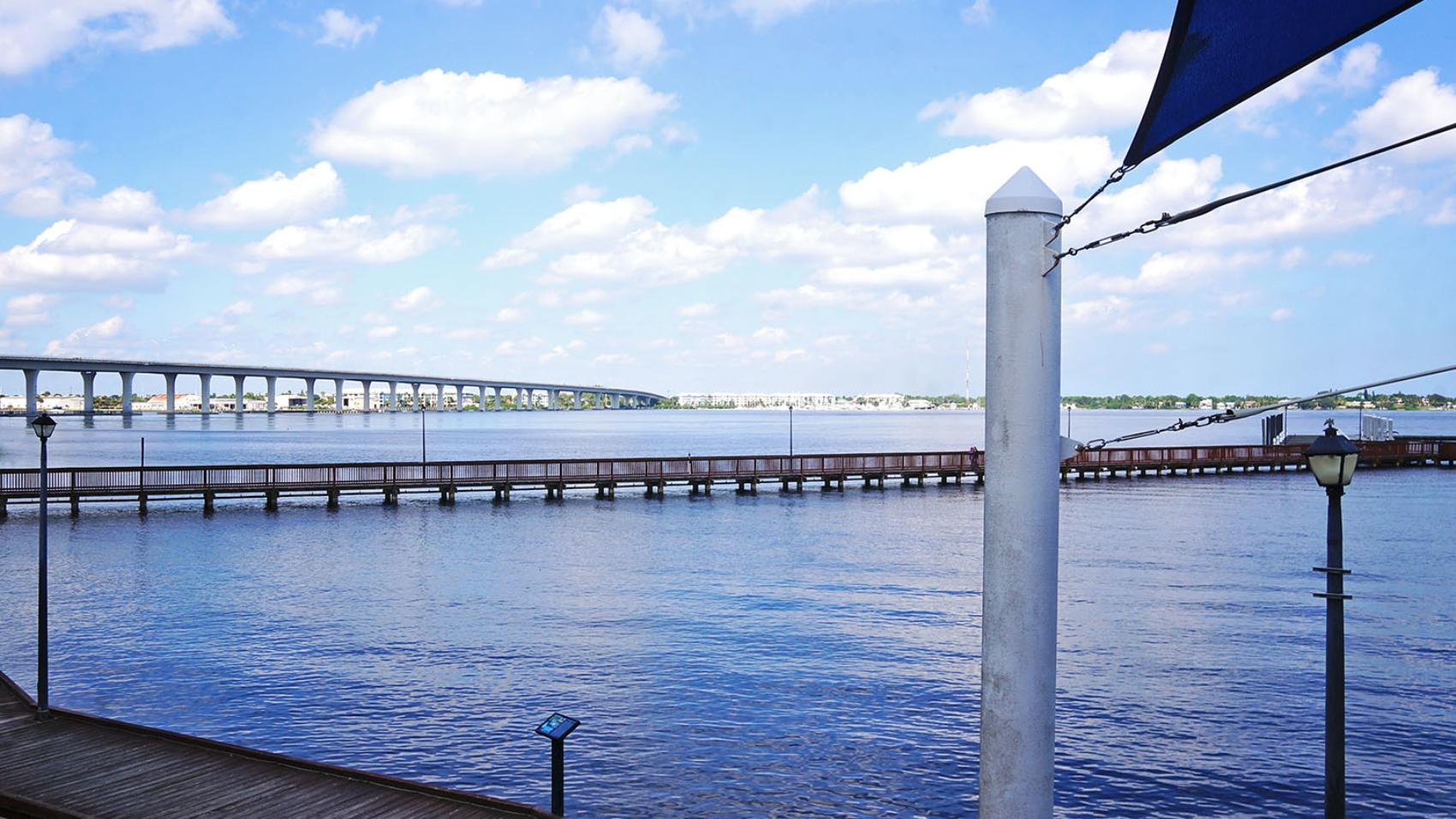 Boardwalk of Stuart Florida