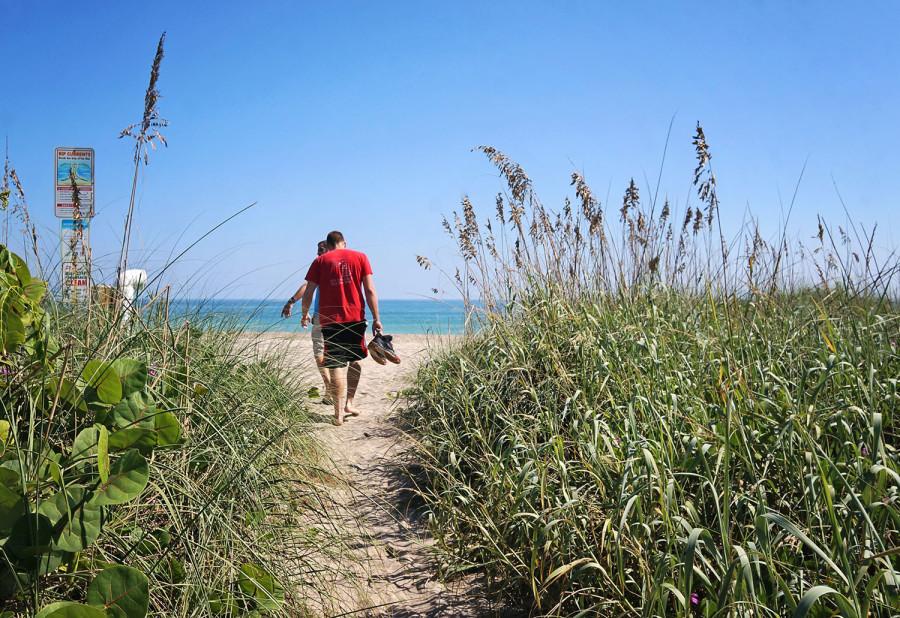 trail to Hutchinson Island Beach