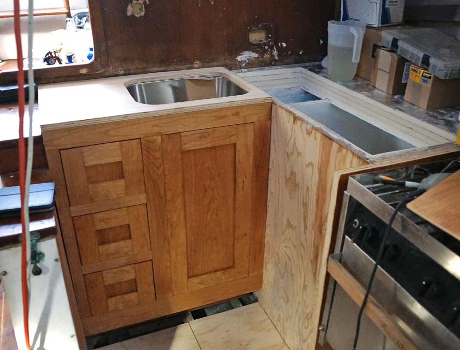 setup of kitchen