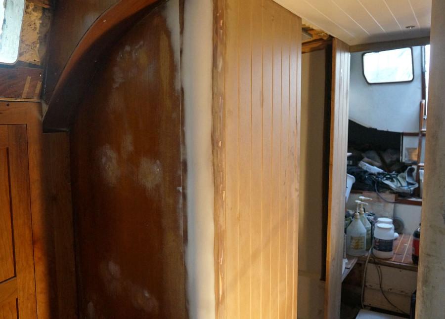 installing bulkhead to head