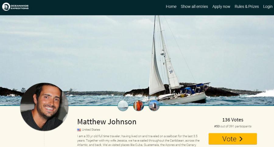 Matt antarctica contest
