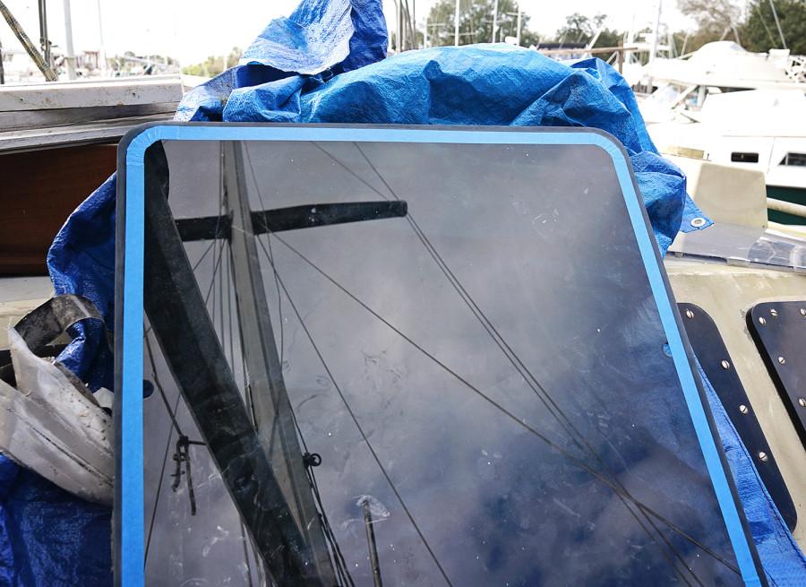 taping plexi hatch