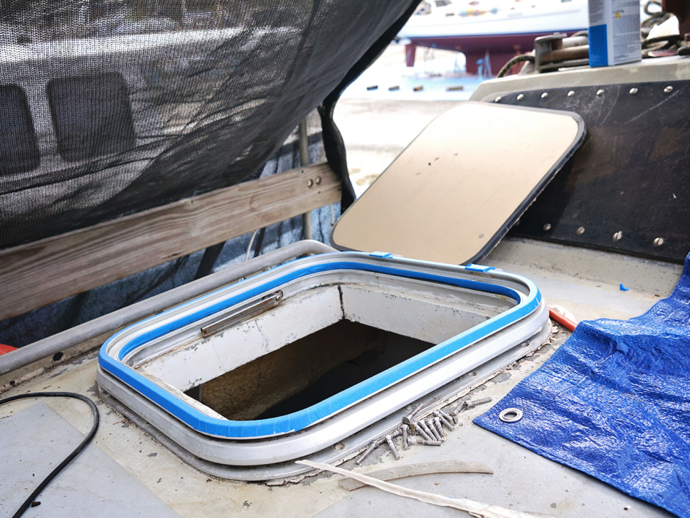 hatch frame