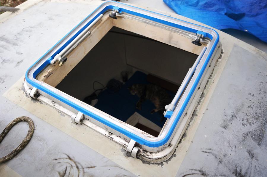 open hatch