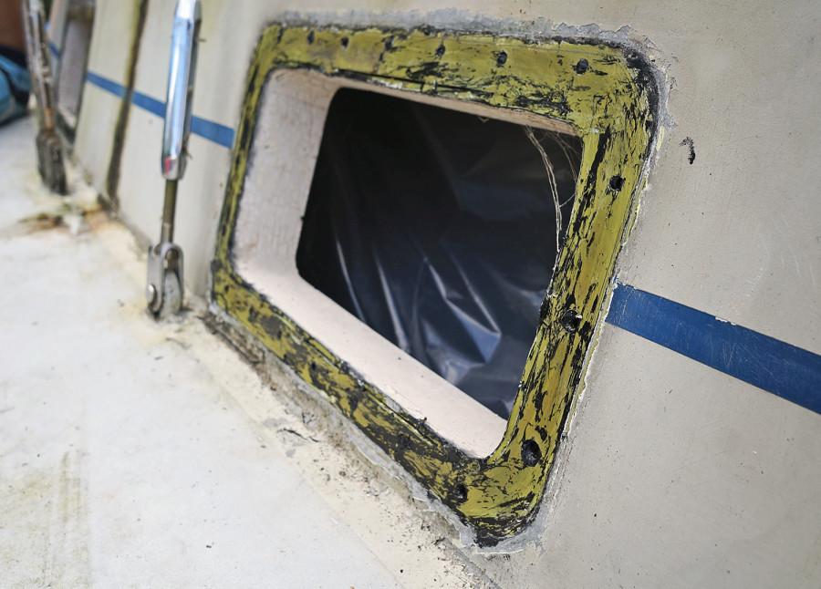 removing old port