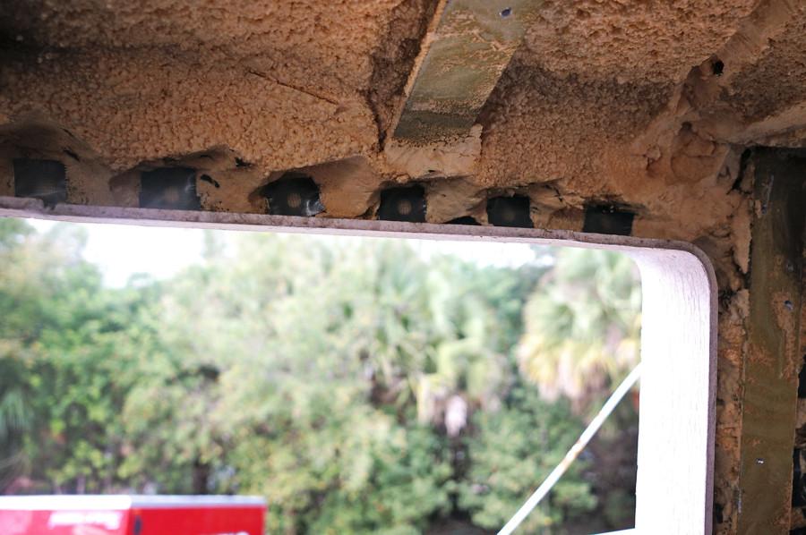 filling holes in deadlight