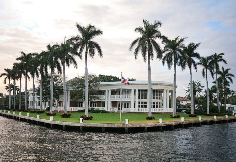 waterfront house in Ft. Lauderdale