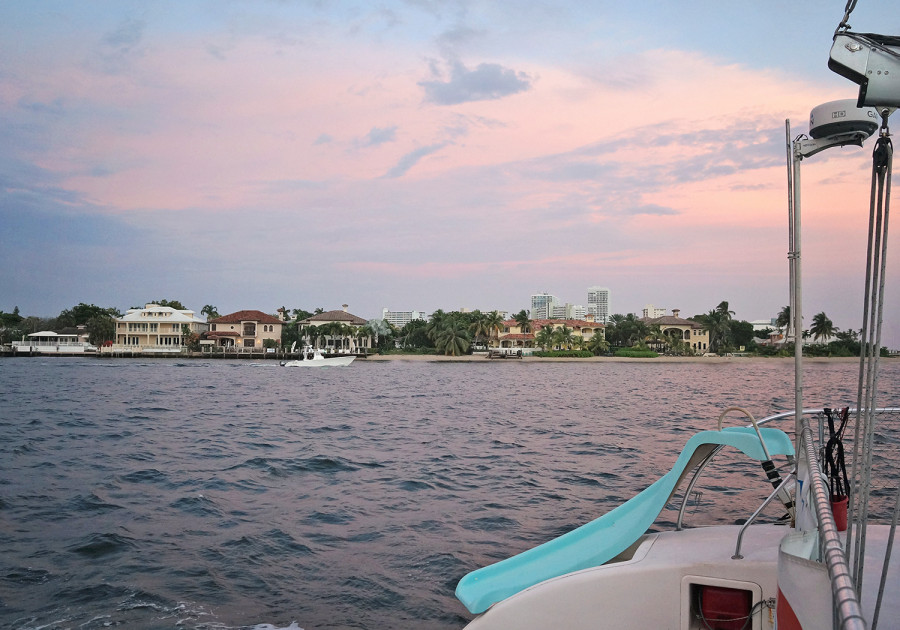 sunset cruise in Ft. Lauderdale