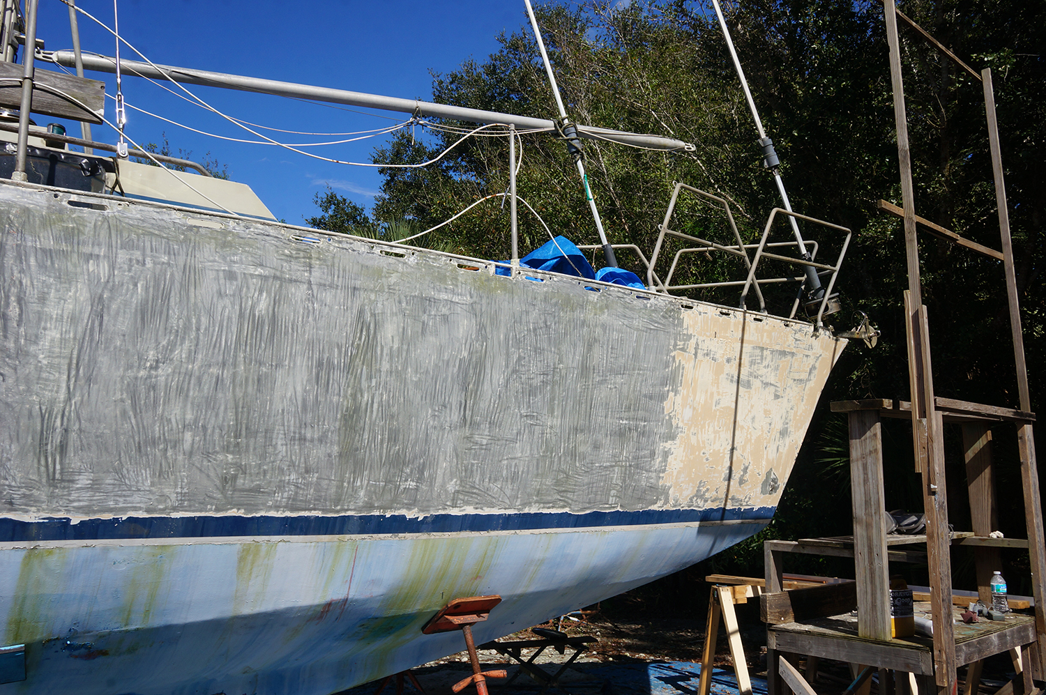 Apologise, but boat paint stripper situation