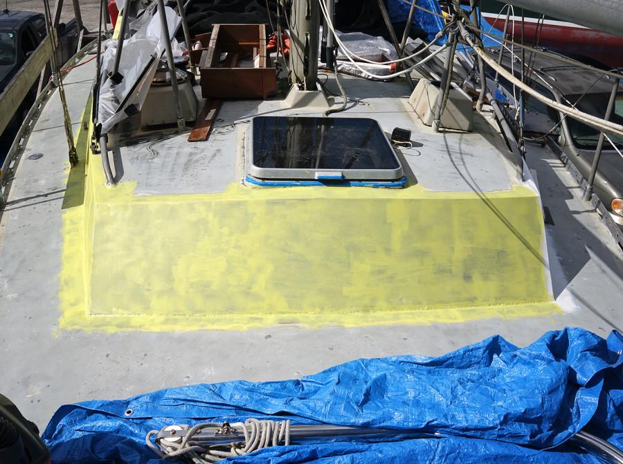 alumaprime on boat