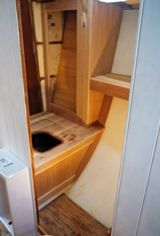 cherry cover for composting toilet