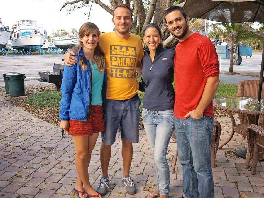 Cati, Johannes, Jessica & Matt