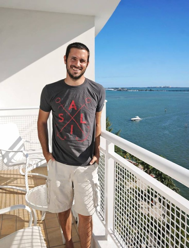 Matt at Madarin Oriental Miami