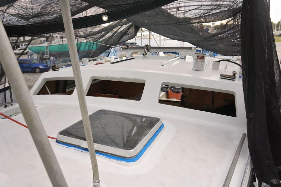 cabin top barrier coated