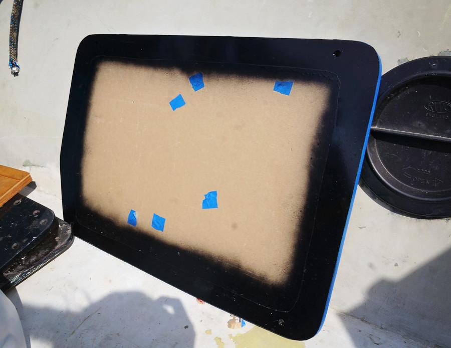 backside of plexi window