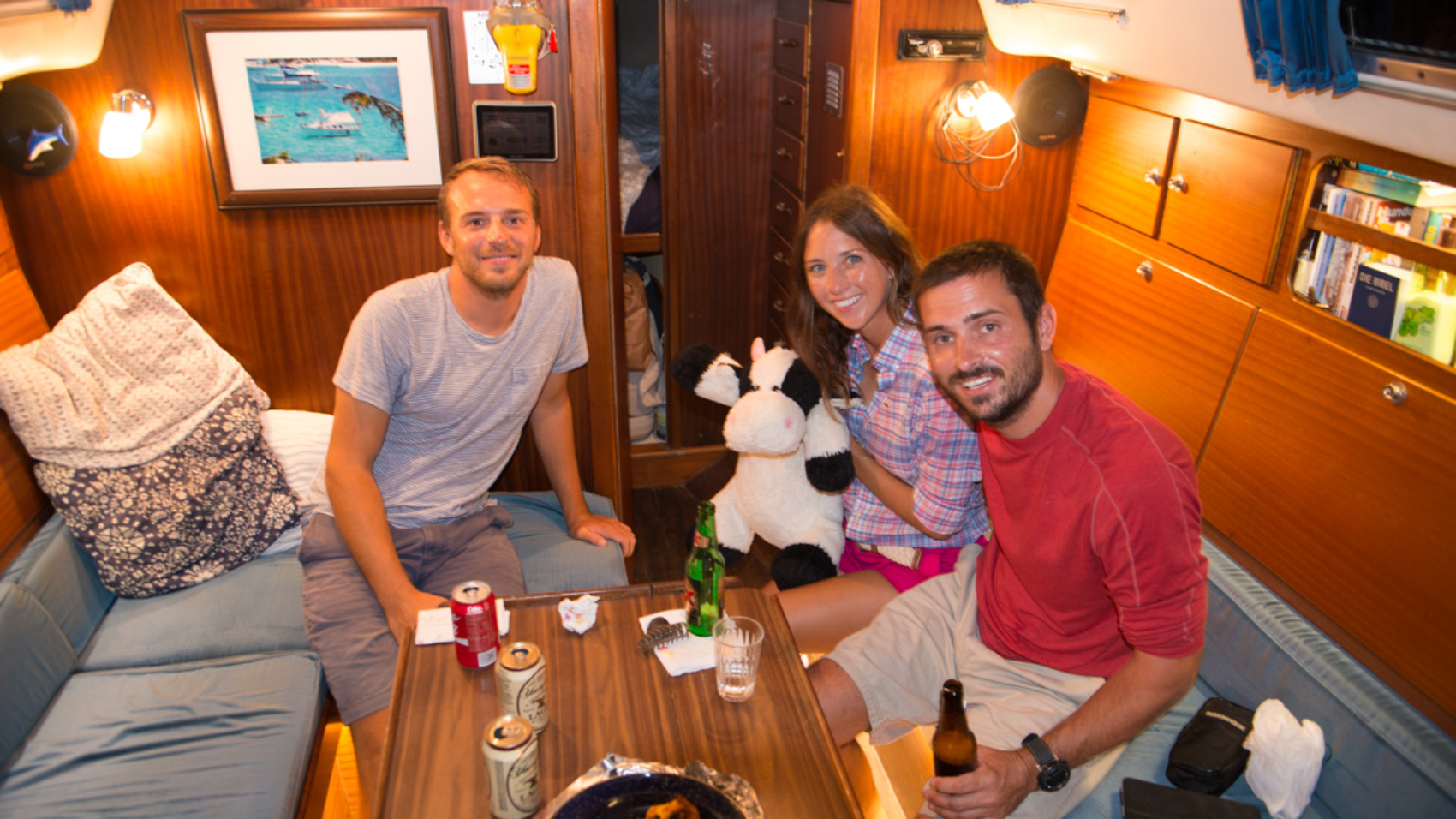 Johannes, Jessica and Matt