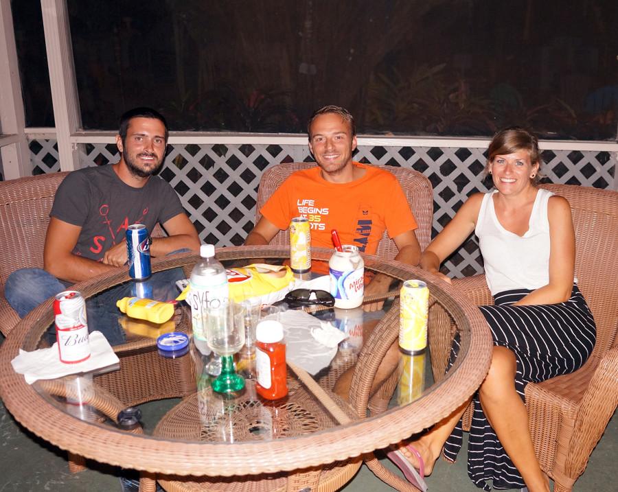 Matt, Johannes and Cati