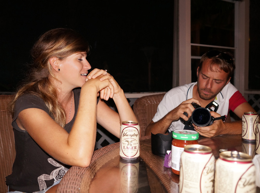 Cati and Johannes